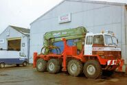 A 1990s Foden 8X8 Timberlorry Diesel