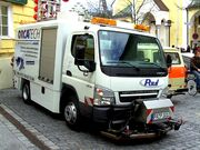 Fuso Canter sweeper trucks