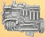 International DT-817 engine 1959