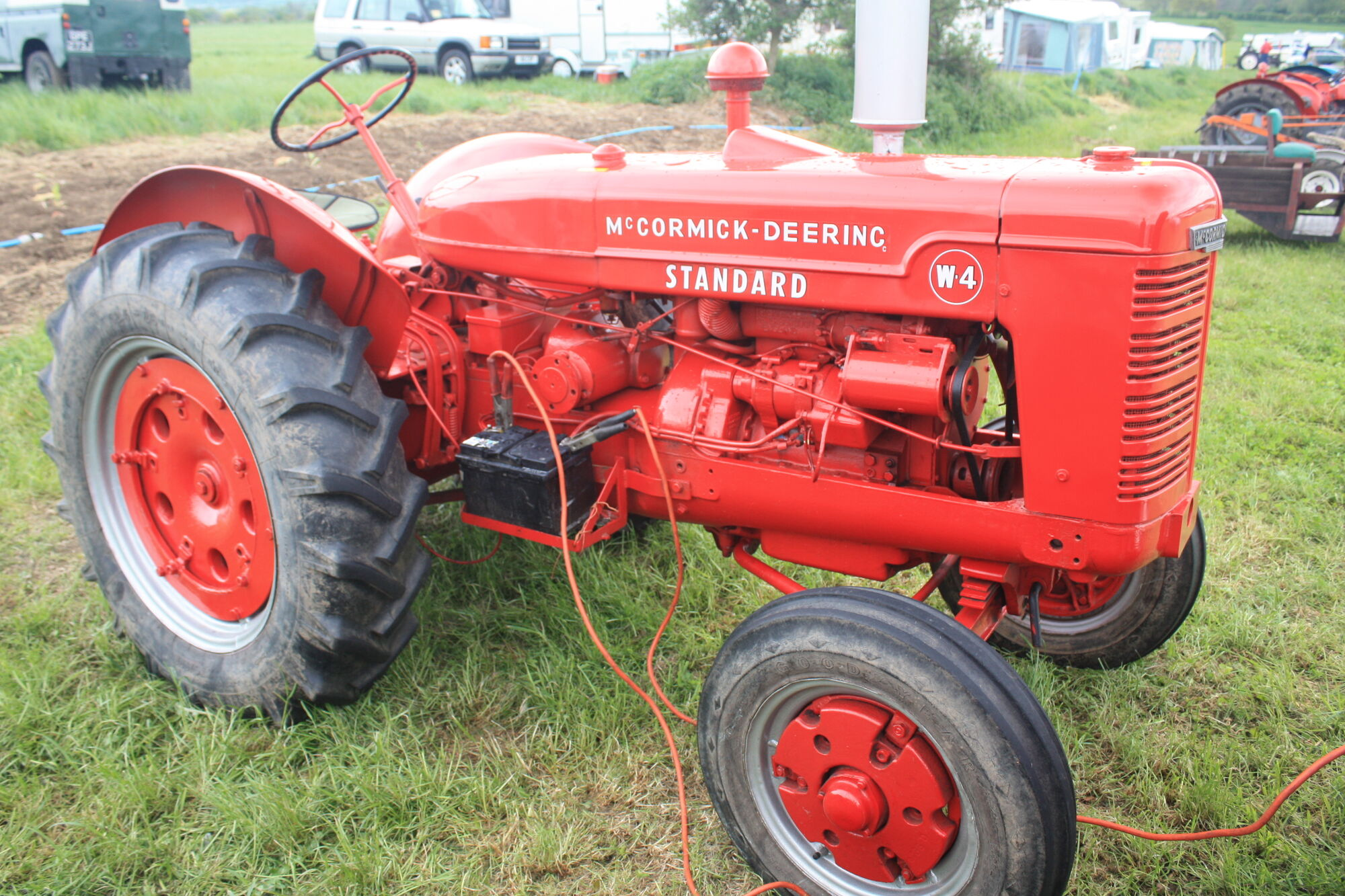 McCormick-Deering W-4   Tractor & Construction Plant Wiki