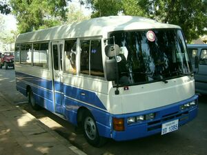 Nissan bus-Laos