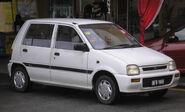 Perodua Kancil (first generation) (front), Kuala Lumpur