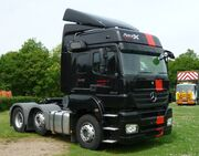 Rossetts Commercials Mercedes-Benz Axor cab