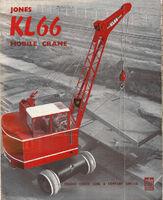 A 1980s Jones KL66 Crane Diesel