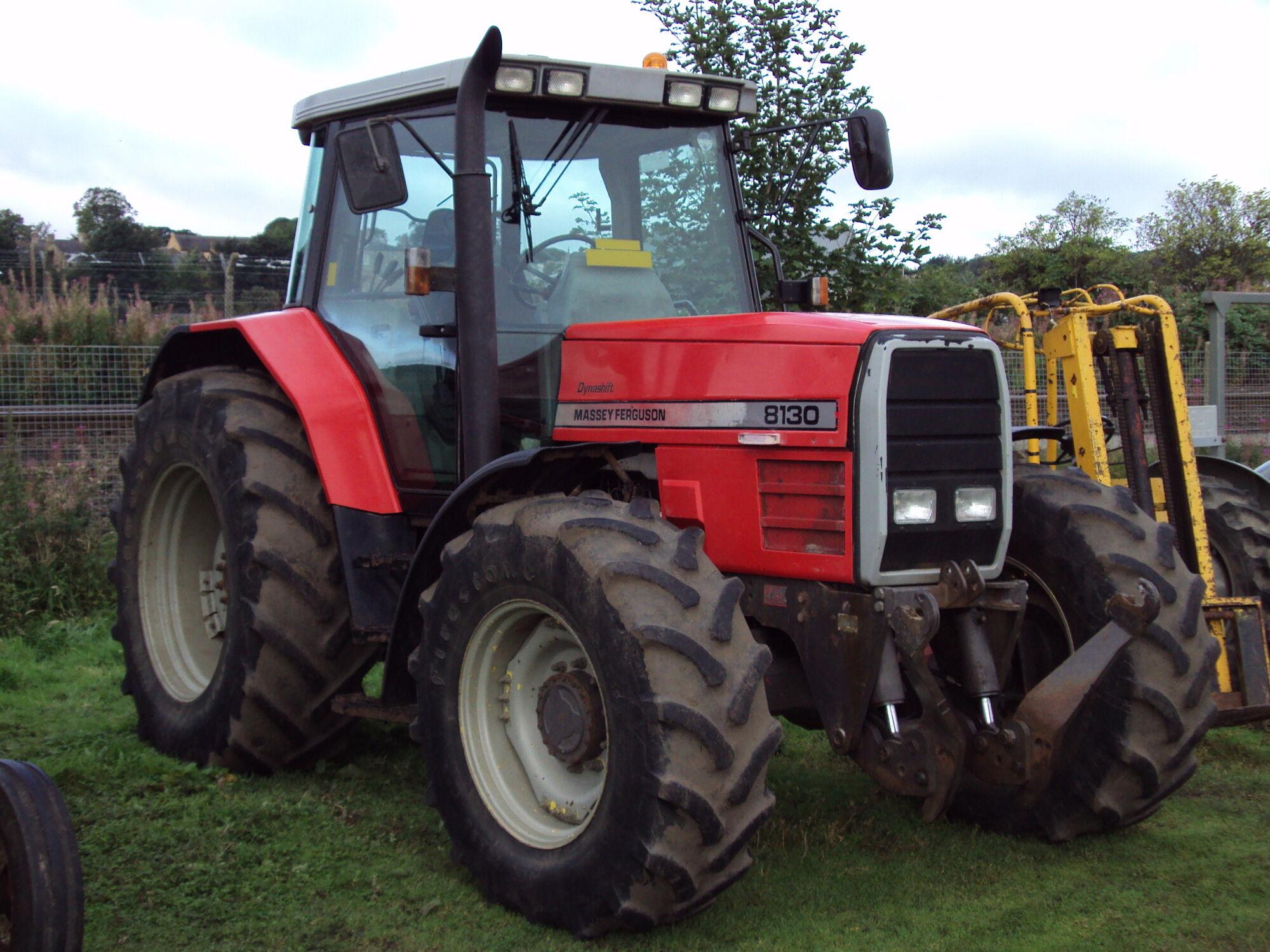Massey Ferguson 8130 | Tractor & Construction Plant Wiki