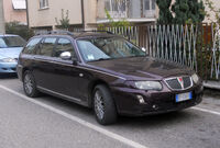 Rover 75 Tourer post-facelift - front
