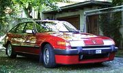 Rover SD1 red front