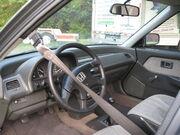 1990 Honda Civic DX interior