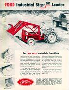 Ford Step-on loader ad