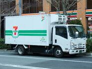 ISUZU ELF, 6th Gen, 7-Eleven, NGV-Vehicle
