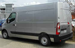 Renault Master IV rear 20100504