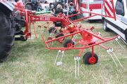 Twose RT555 hay turner - IMG 5207