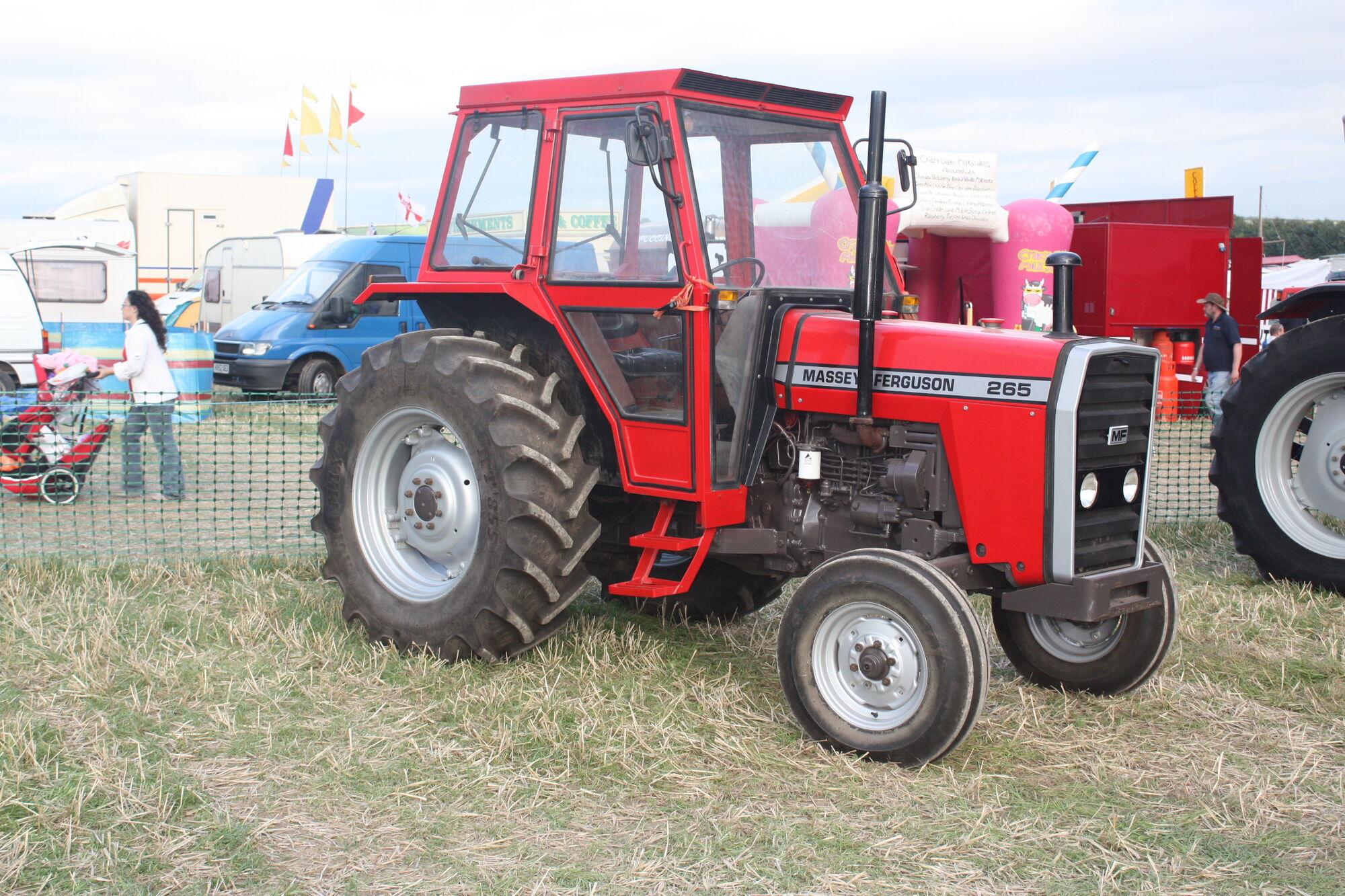 Massey Ferguson 265   Tractor & Construction Plant Wiki   FANDOM