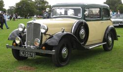 Morris Fifteen-Six 2006cc April 1935