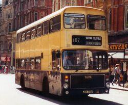 West Midlands Volvo B55