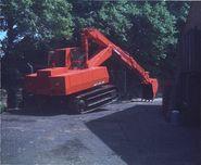 A 1970s rare Whitlock 50R Crawler Excavator Diesel