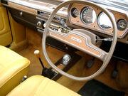 Austin Allegro Interior with Quartic steering wheel