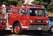 Ew Market Community Volunteer Fire Department & SW Rescue engine