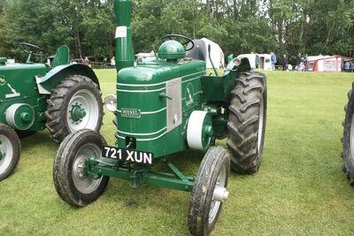 Field Marshall 9398 reg 721 XUN at Newby 09 - IMG 2501