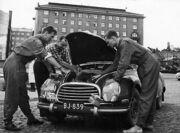 Osmo Kalpala - 1956 Rally Finland