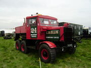 Scammell Explorer YAS 852 at Rushden 08 - P5010281