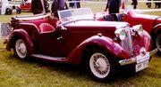 Talbot Ten Tourer 1936