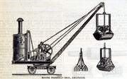 A 1880 Priestman Brothers Steam Excavator