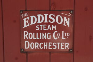 Eddison Steam Rolling Co plate - IMG 1323
