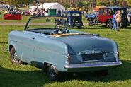 Ford Consul MkI convertible rearo