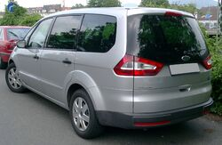 Ford Galaxy rear 20080625