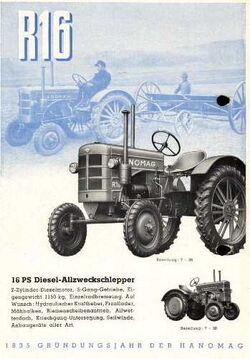 Hanomag R 16 - 1951-57