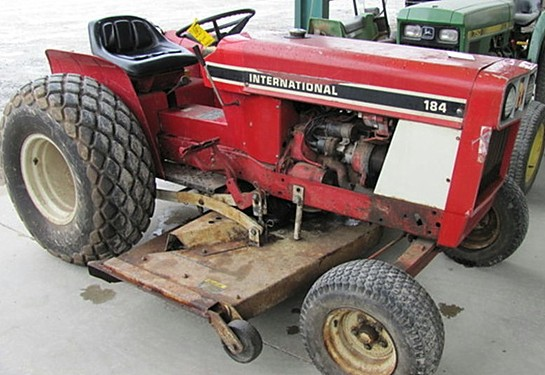 International 184   Tractor & Construction Plant Wiki