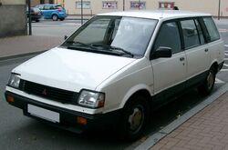 Mitsubishi Space Wagon front 20071025