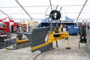 Mole drainer + pipe layer at LAMMA 2013 IMG 6080