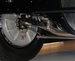 1937 Bugatti Type 57SC Gangloff Drop Head Coupe suspension