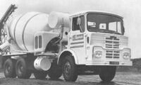 A 1970s GUY Big J8 Cement Mixer