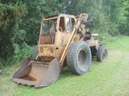 A 1970s Weatherhill 8H Fordson powered Loader