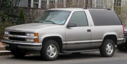 Chevrolet Tahoe 2-door