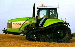 Claas Challenger 55 - 2002