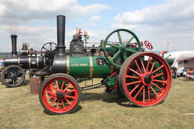 Davey Paxman no. 16849 - TE - Little Audrey - AF 3373 at Hollowell 2011 - Picture 780