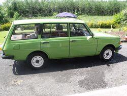 Green car in Ireland
