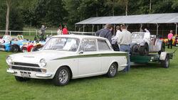 Lotus Cortina and a 7