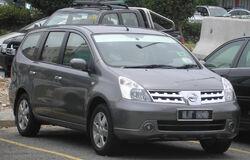 Nissan Grand Livina (first generation) (front), Serdang