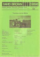 Satoh Bull (DB Case France) b&w ad