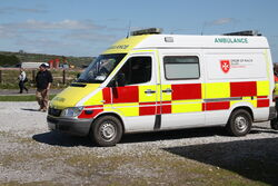 Mercedes Sprinter ambulance - Order of Malta - IMG 0690