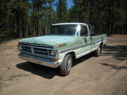 1971 Ford F250 Camper Special