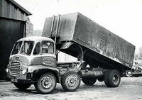 A 1950s GUY Warrior Diesel Tipper Lorry