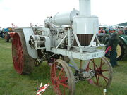 Avery tractor at Belvoir