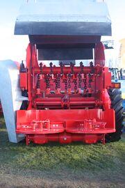 Industrial manure spreader rotor IMG 4599
