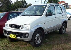 2000-2004 Daihatsu Terios (J102) DX 01